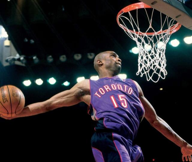 Nba Dunk Contest Highlights Of Vince Carter Tracy Mcgrady Show Si Com