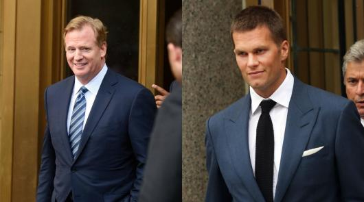 Image result for roger goodell tom brady