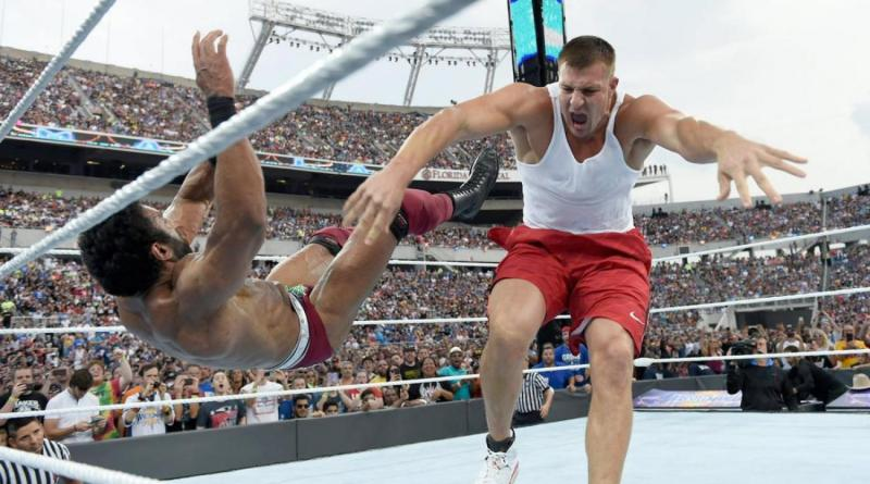 Image result for gronk wwe