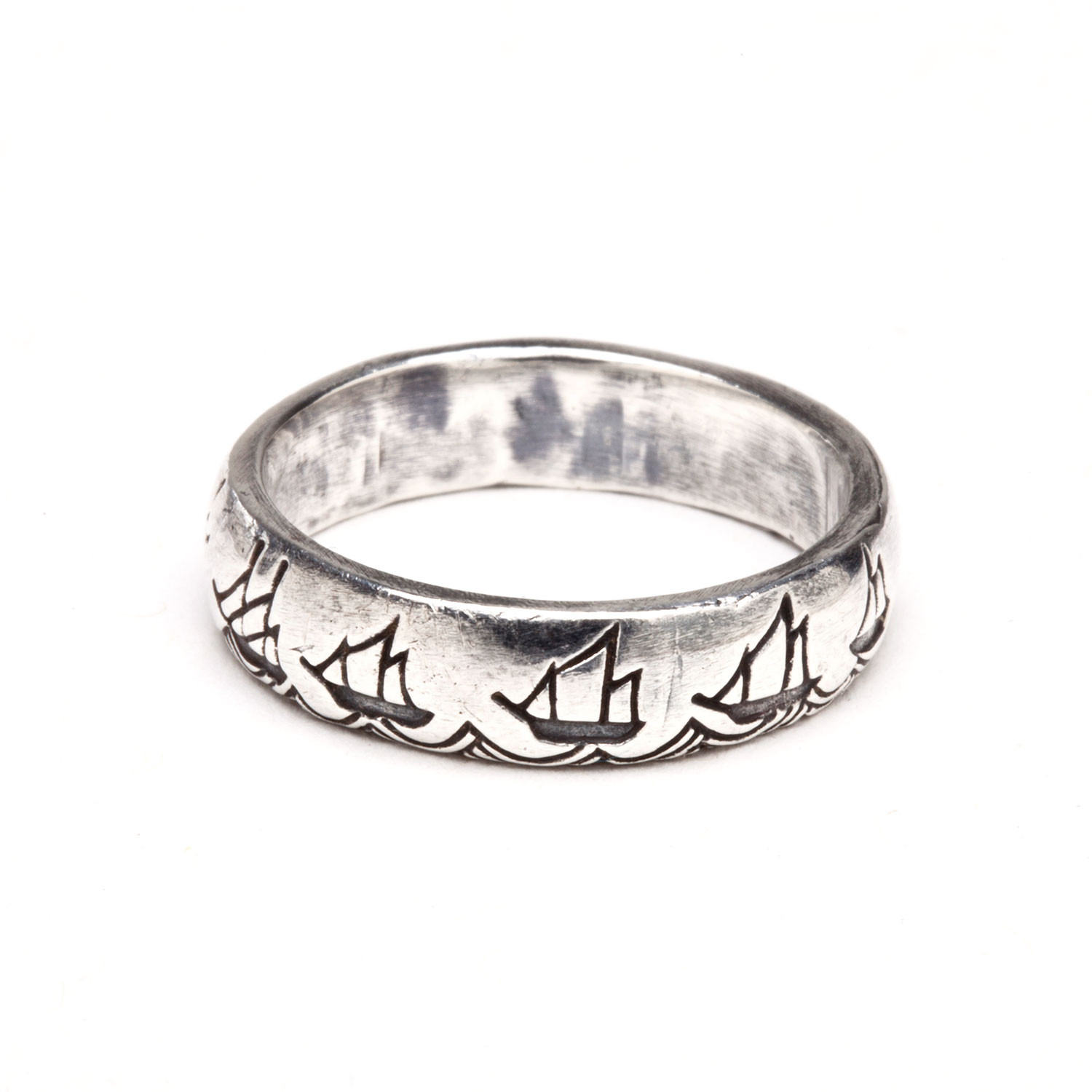 Battle Diagram Ring (Size 4)  Digby & Iona  Touch of Modern