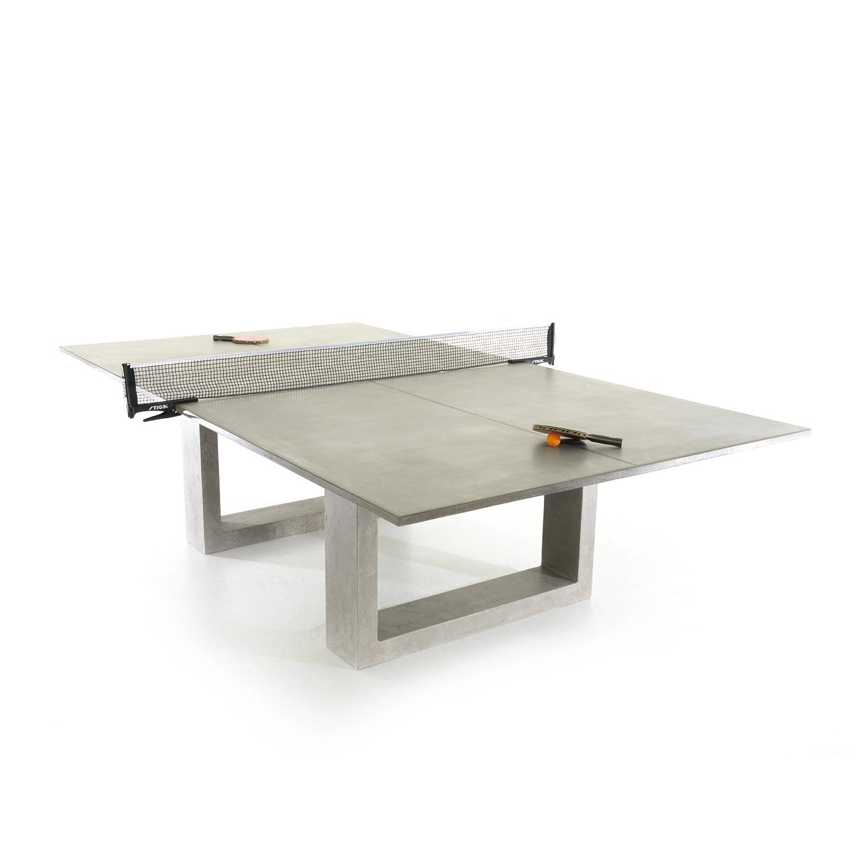 ping pong table light grey james de