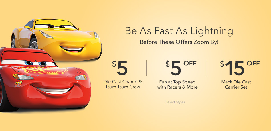 Be As Fast As Lightning - Before These Offers Zoom By!