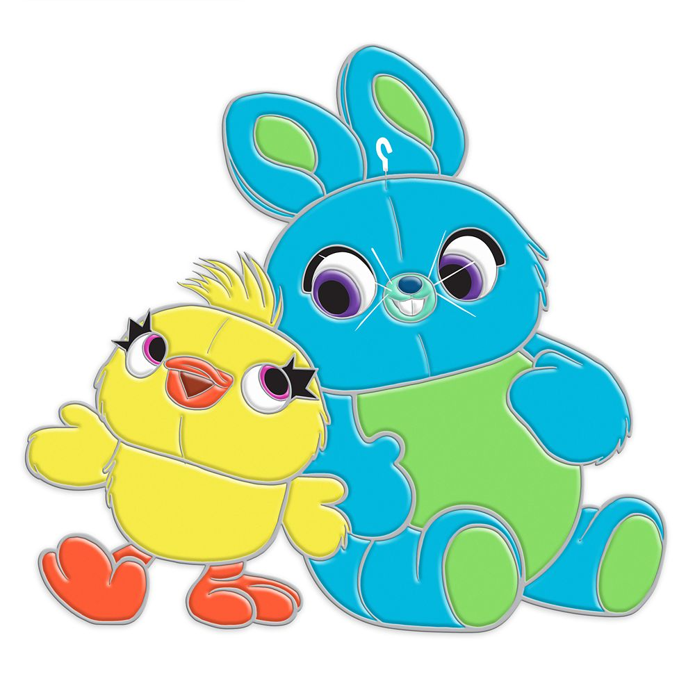 ducky and bunny pin toy story 4