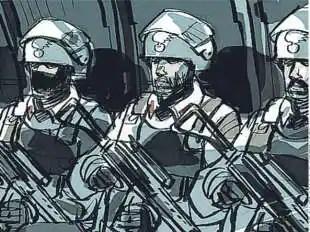 allerta anti terrorismo le squadre pronti a intervenire