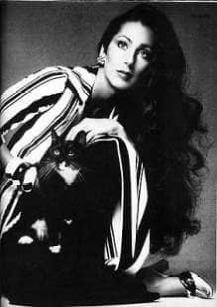 cher by helmut newton in vogue 1974