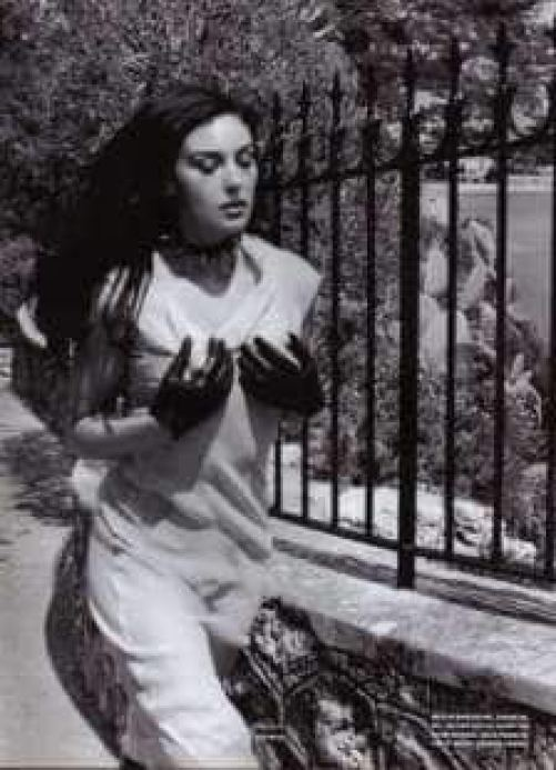 monica bellucci by helmut newton 1