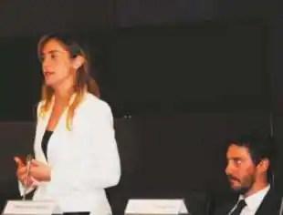 MARIA ELENA BOSCHI E FRANCESCO SPANO