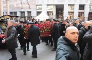 funerale Moratti