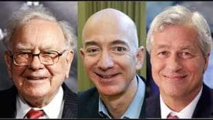jeff bezos warren buffett jp morgan