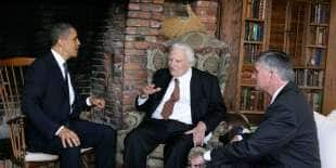 obama da billy graham