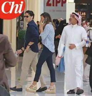 GIANCARLO TULLIANI E FRANCESCA A DUBAI