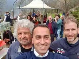 BEPPE GRILLO - DI MAIO - DAVIDE CASALEGGIO