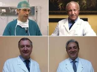 Tangenti negli ospedali a Milano - Carmine Cucciniello - Giorgio Maria Calori - Carlo Romano' - Lorenzo Drago
