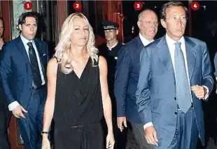 GIANCARLO ELISABETTA TULLIANI - LABOCCETTA - GIANFRANCO FINI