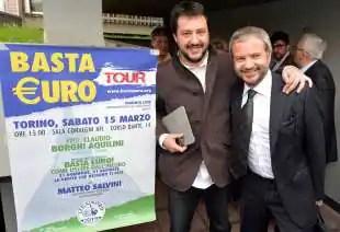 MATTEO SALVINI CLAUDIO BORGHI 2