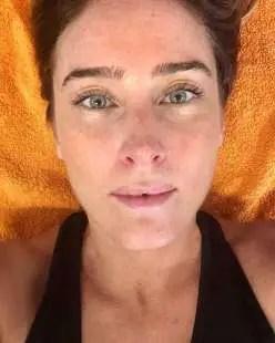 MARIA ELENA BOSCHI SELFIE SU INSTAGRAM