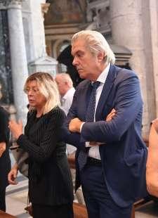 luigi marroni al funerale di elsa martinelli (1)