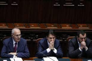 PAOLO SAVONA GIUSEPPE CONTE MATTEO SALVINI