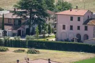 la casa della Boschi a Laterina