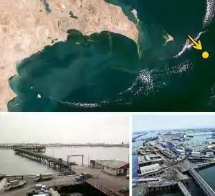 oil rocks in azerbaijan