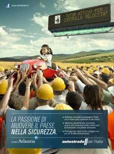 campagna pubblicitaria autostrade per l italia