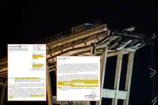 la lettera di febbraio accusa Autostrade e Ministero
