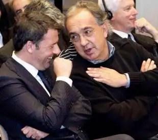 renzi e marchionne al council on foreign relations
