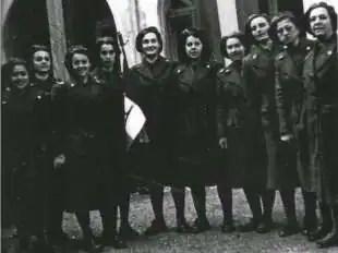 donne fasciste repubblichine