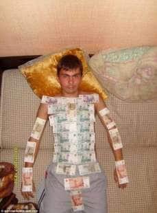 russo in contanti