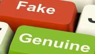 tasti falso e vero
