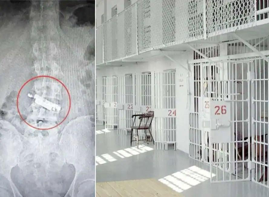 Risultati immagini per a napoli un detenuto ingoia un cellulare