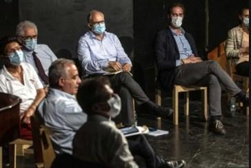 le primarie dem nel segno dell'illegalita'. il dibattito tra i candidati in un palazzo occupato