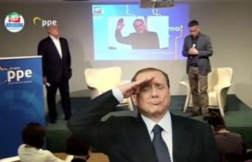 berlusconi si collega telefonicamente alla convention di forza italia in lombardia