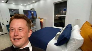 elon musk ha venduto tutte le sue case e ora vive in affitto in un prefabbricato da 50.000 dollari..