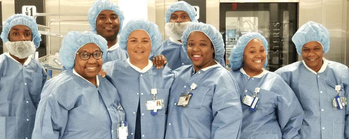 Certified Sterile Processing Apprentice Program Celebrates