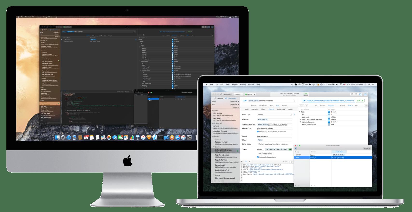 Paw for Mac 3.0.14 破解版- Mac上实用HTTP请求测试工具