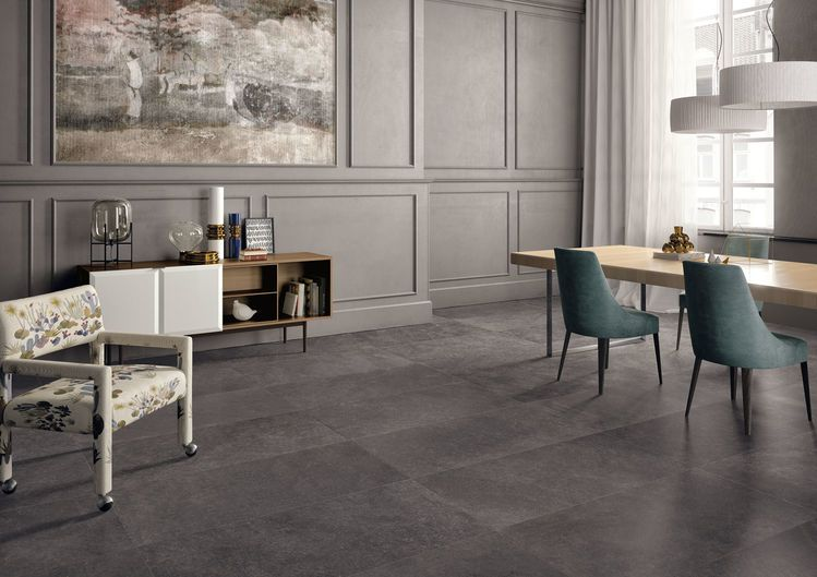 stone effect porcelain tiles keope