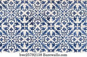 portugal tiles posters and art prints