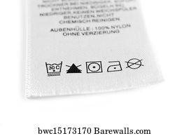 5 018 laundry care symbol posters and