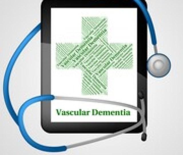 Multi Infarct Dementia Art Print Poster Vascular Dementia Indicates Neurocognitive Disorder And Vci