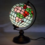 Stained Glass Globe Accent Light Cracker Barrel