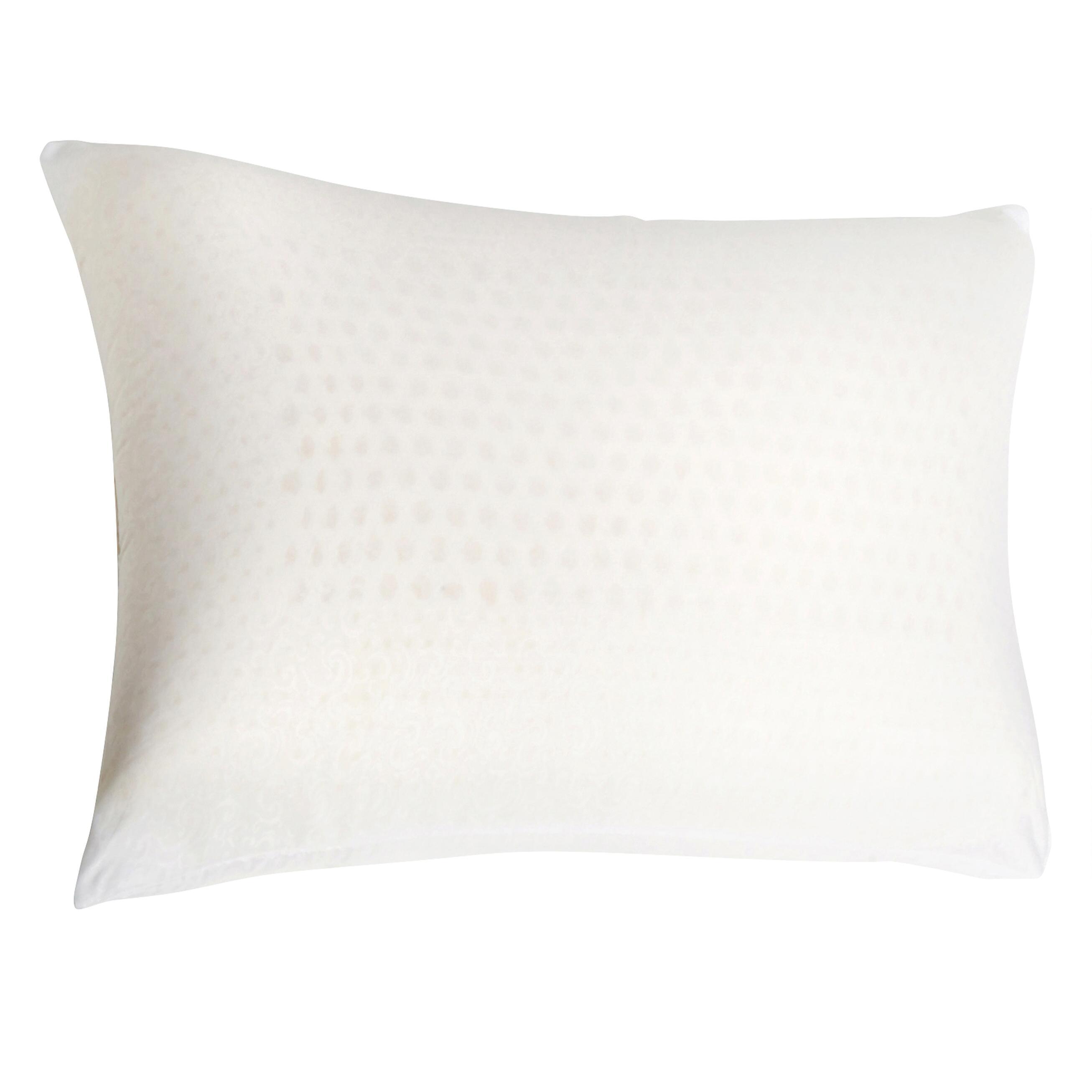 talatech queen latex foam pillow