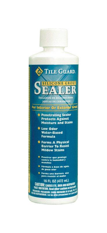 homax tile guard residential penetrating grout sealer 16 oz