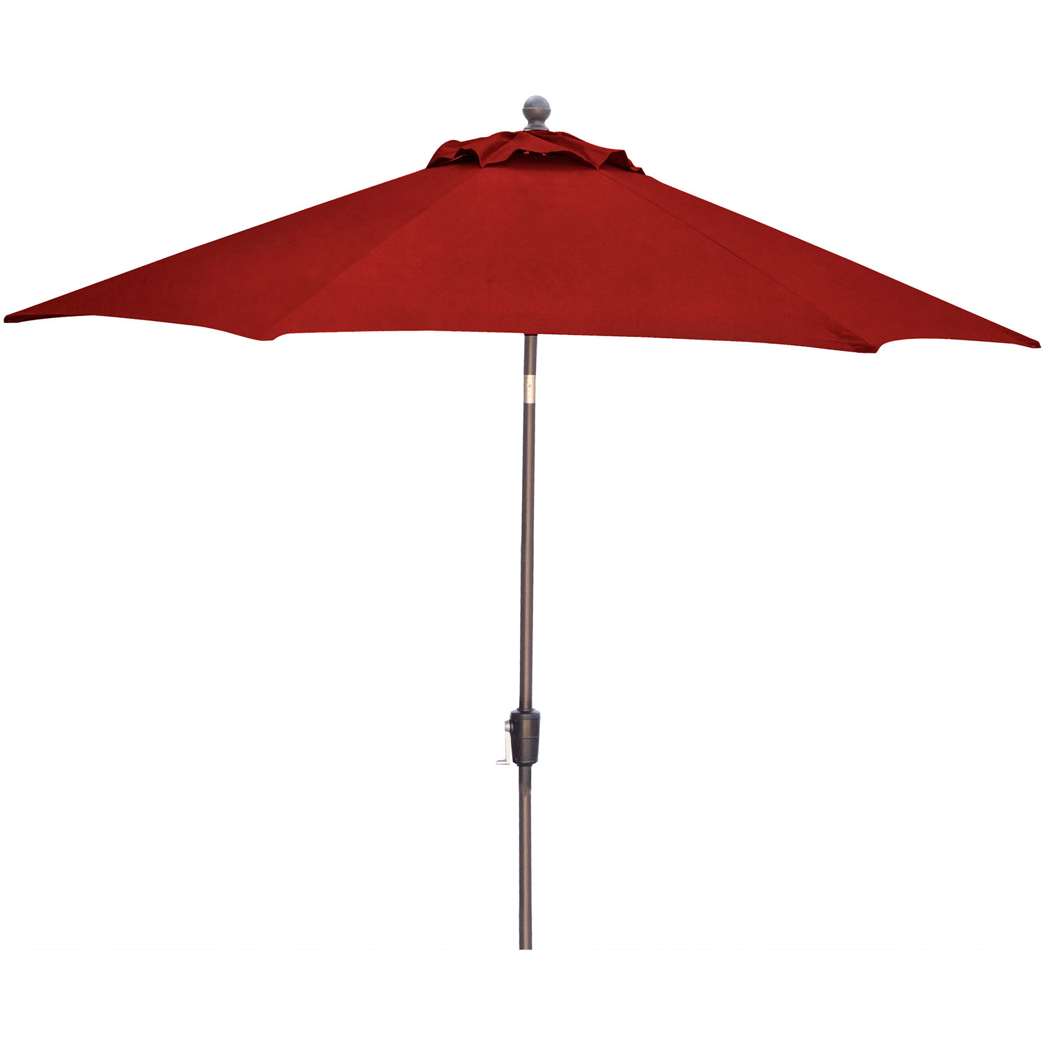 hanover traditions 11 ft tiltable red patio umbrella