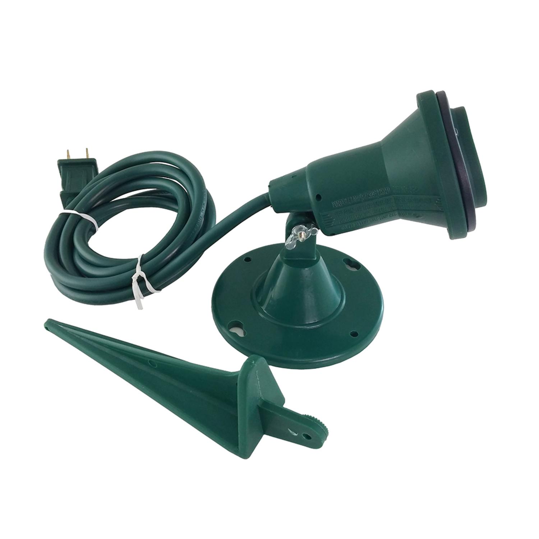 ace green plug in 100 150 and 50 watt spot light 1 pk