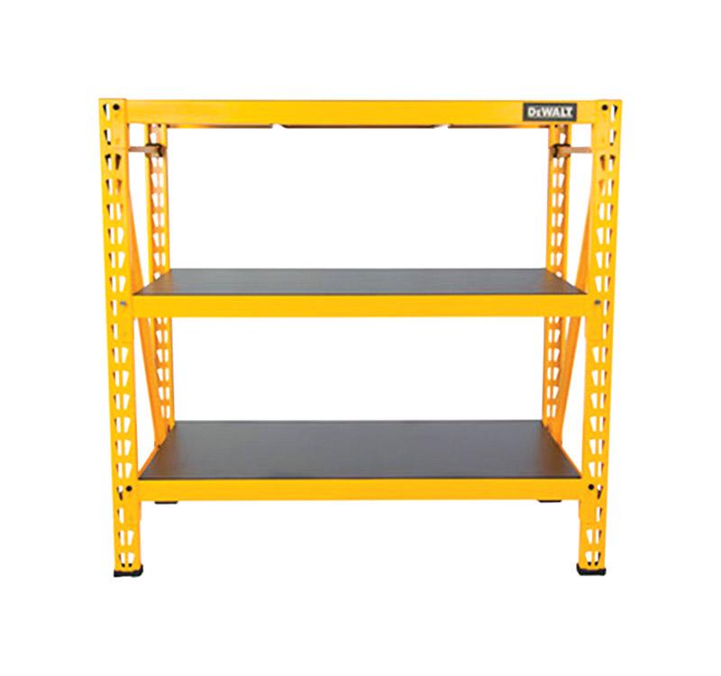 Dewalt 48 In H X 50 In W X 18 In D Yellow Steel Shelf Rack Ace Hardware