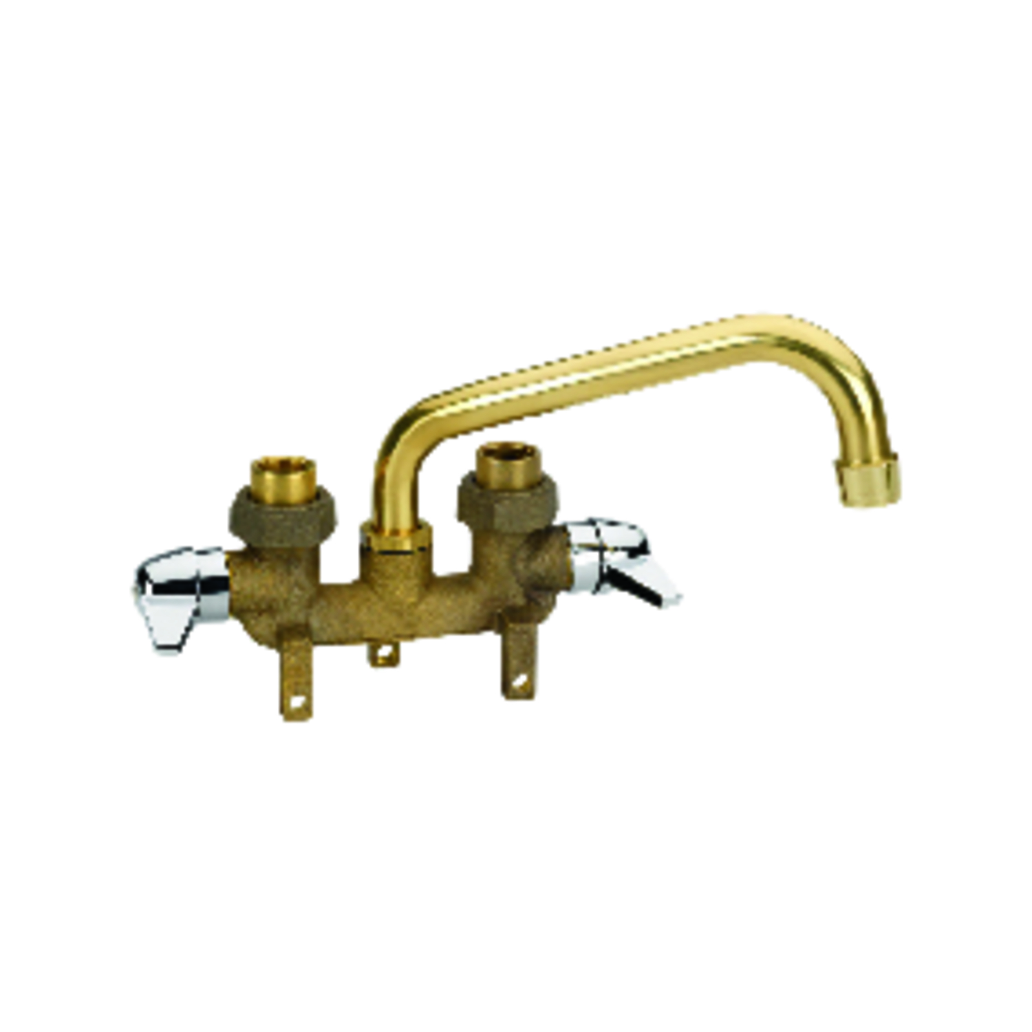 homewerks tray rough brass two handle laundry faucet 3 38 in