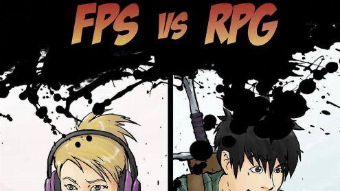 L'image du jour : La grande différence entre un FPS et un RPG