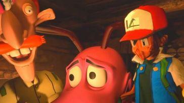 """L'image du jour : Resident Evil Village """"ruiné"""" par des mods, où quand Mickey rencontre Joel et Ellie"""