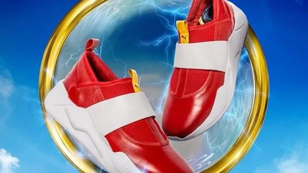 Puma recrée les chaussures de Sonic mais il n